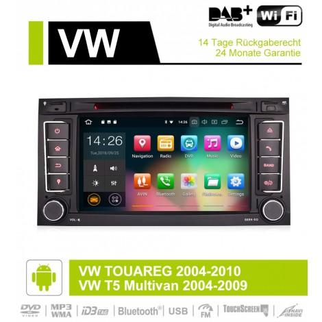 2din Android 9.0 Octa-core 4 GB RAM 32GB Autoradio / Multimedia Für VW/Volkswagen/Touareg/Transporter T5 Mit Canbus Wifi GPS Navigation Bluetooth Radio