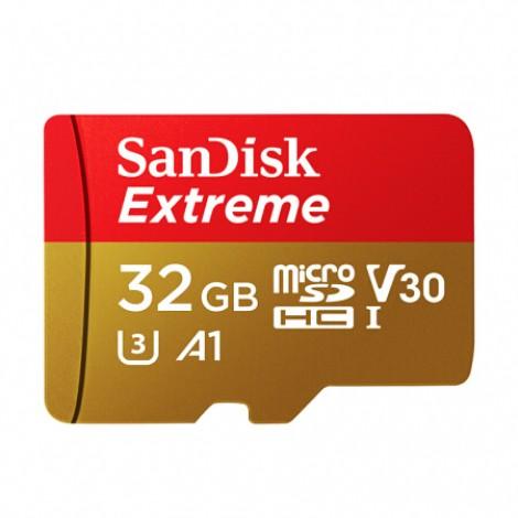 SanDisk TF(MicroSD)-Speicherkarte U3 C10 A2 V30 4K Extreme Speed Mobile Edition Lesegeschwindigkeit 160 MB/s Schreibgeschwindigkeit 90MB/s