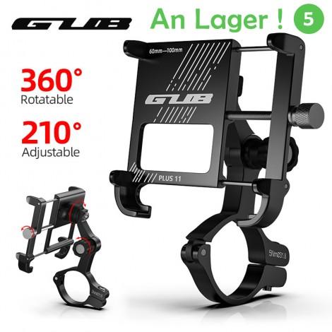 GUB PLUS 11 Drehbare Fahrrad Telefon Halter Für 3,5-6,8 inch Smartphone Einstellbar Für MTB Rennrad Motorrad Elektrische fahrrad