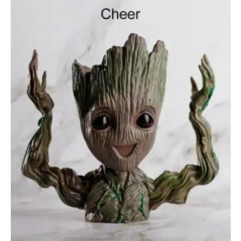 Cheer Baum Mann Blumen Topf Puppe Modell Schreibtisch Ornament Geschenk Spielzeug