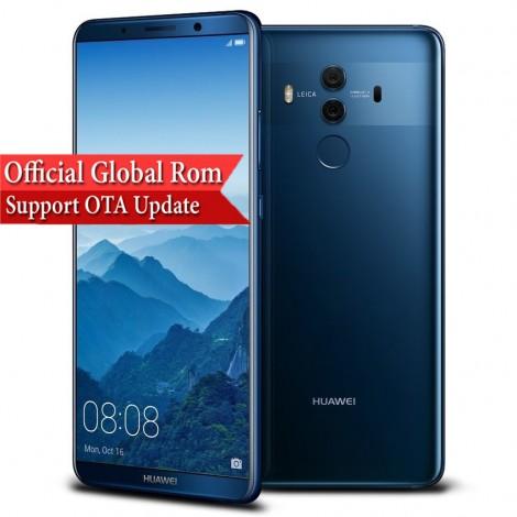 "HuaWei Mate 10 Pro 4G LTE Mobile Phone Kirin 970 Android 8.0 6.0"" 2160*1080 6GB RAM 128GB ROM 20.0MP NFC Fingerprint"
