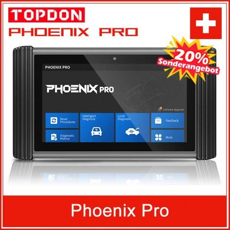 TOPDON Phoenix Pro Online ECU Programmierung Diagnose Werkzeug Bi-Directional Automotive Scan Tool
