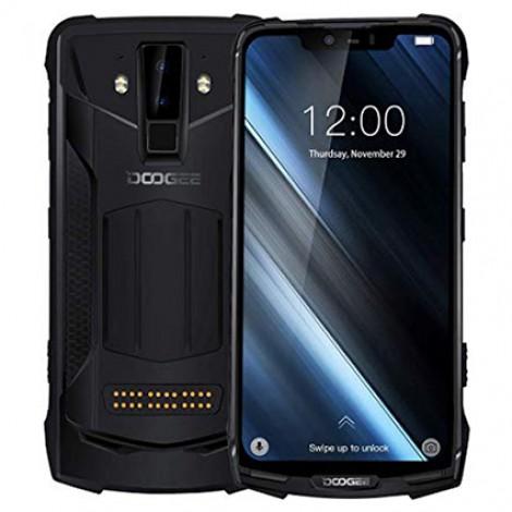 DOOGEE S90 Smartphone Helio P60 MTK6771 6,18 zoll 6 GB + 128 GB Schwarz Farbe