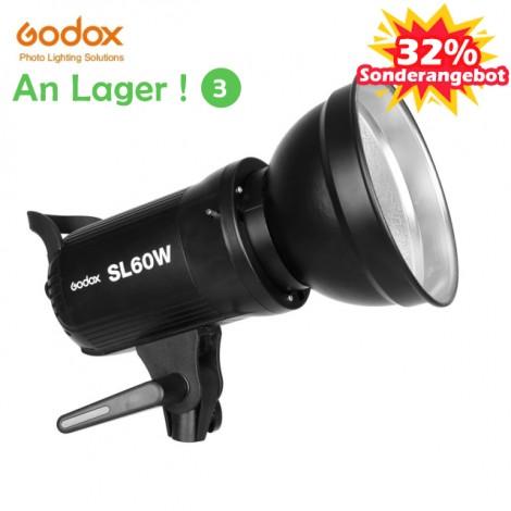 Godox SL-60W 60Ws 5600K Weiß Version LED Video Licht Studio Blitzlicht für Kamera DV Camcorder SL-60W