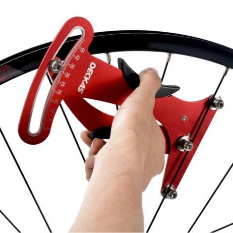 Deckas Bike Anzeige Attrezi Meter Tensiometer Fahrrad Speichen Spannung Rad Builders Werkzeug Fahrrad Speichen Reparatur Werkzeug