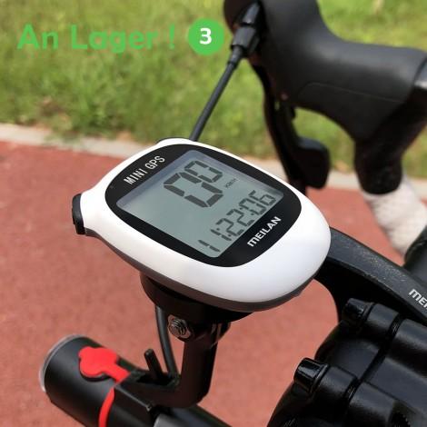 Meilan M3 GPS Fahrrad computer fahrrad GPS Tacho Geschwindigkeit Höhe DST Fahrt Zeit Drahtlose Wasserdichte Radfahren computer