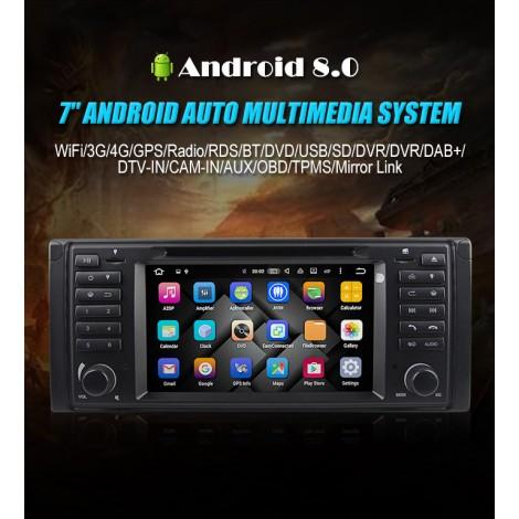 Android 8.0 Octa-core 4GB RAM 32GB Car DVD Für BMW