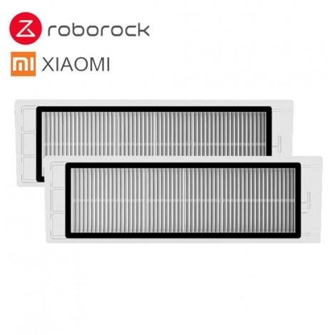 2 Stücke Geeignet für XIAOMI Roboter-staubsauger Roborock Ersatzteile Roller Ersatz Kits Reinigung Gerahmte HEPA-Filter