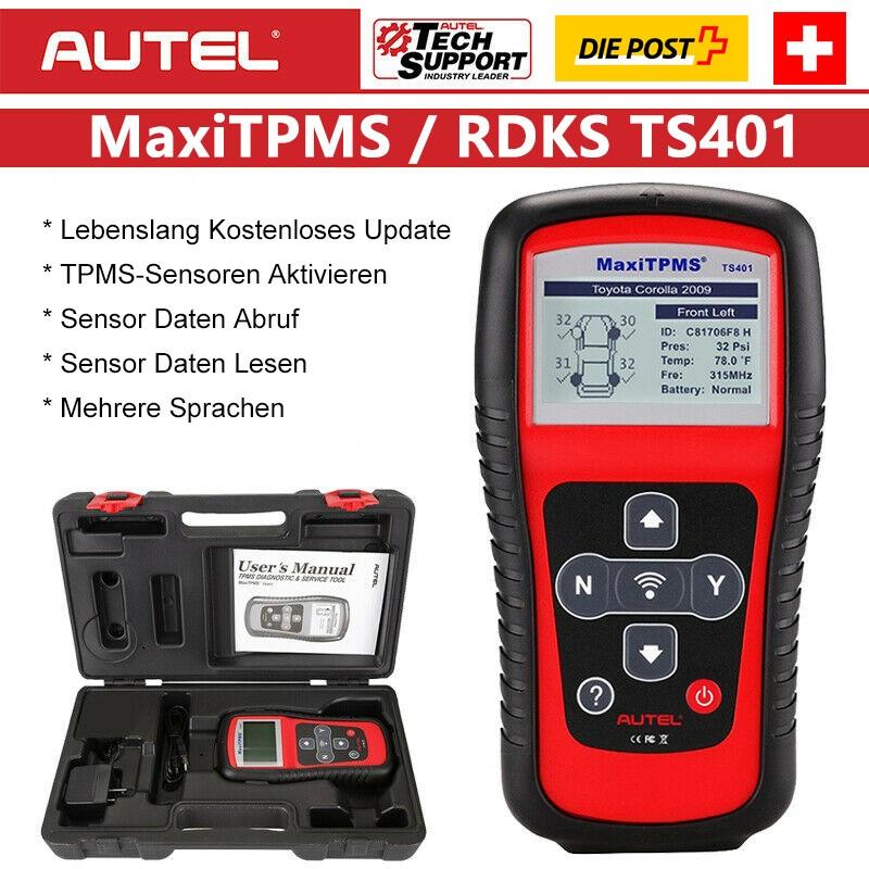 8X Autel MX-Sensor 433Mhz TPMS RDKS RDK Reifendrucksensor FOR Audi ...