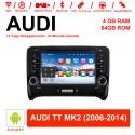 7 Zoll  Android 9.0 Autoradio / Multimedia 4GB RAM 64GB ROM  Für AUDI TT MK2