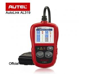 NEU Autel Autolink AL319 Auto-Diagnosescan-Tool / Codeleser MIL ausschalten / Patentierte One-Click-I / M Readiness Key