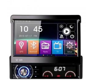 """7 """" single 1 Din WCE6.0 Universal Autoradio GPS Navigation In-Dash abnehmbare Frontplatte Auto Radio Audio Stereo"""