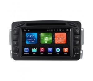 Android 9.0 Quad-Core 2 GB RAM 16GB AutoRadio für Benz W203 W209 W168