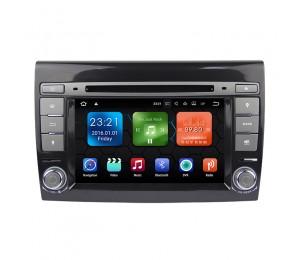2 Din Android 7.1 Quad-core 2G RAM 16G flash Car DVD Player Radio für Fiat Bravo