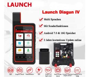NEU Launch X431 Diagun IV Auto Full System-Diagnose-Tool Unterstützung Bluetooth/Wifi mit 2 Jahr Freies Update
