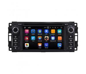 Android 7.1 Quad-core 2G RAM 16G  flash Car DVD Player Radio für Jeep Compass 300C autoradio Mit GPS Bluetooth wifi