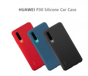 Original Silicon Auto Fall für Huawei P30 Offizielle Silicon Abdeckung Fall Abdeckung Huawei P30 Telefon fall
