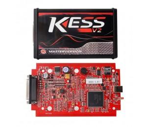 EU Version Rot kess v5.017 SW v2.23 Master OBD2 Manager Tuning Kit Keine Token Begrenzung ECM Titan Software Auto Truck ECU Programmierer