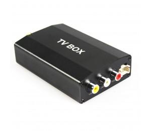 In Auto Digitalen Tv tuner empfänger TV-BOX DVB-2T für Autoradio