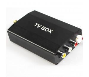 In Auto Digitalen Tv-tuner-empfänger TV-BOX für Auto-DVD-spieler DVB-T ATSC ISDB-T Optional