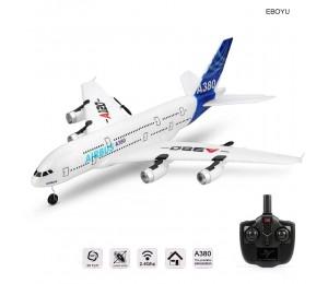 Wltoys Xk A120 Airbus A380 Modell Fernbedienung Flugzeug 2,4g 3ch Epp Rc Flugzeug Fest-flügel Rtf Rc spannweite Spielzeug