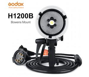 Godox AD-H1200B 1200W Tragbarer Blitzlicht Kopf außerhalb der Kamera für Godox AD600 AD600M Blitzlicht