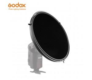 Godox AD-S3 Beauty Dish mit AD-S4 Grid (Honeycomb Abdeckung) für Godox WITSTRO AD200 AD-180 AD360 AD-360 II Speedlite Blitz