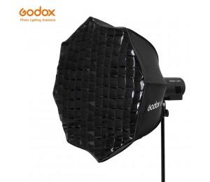 Godox AD-S60S 60cm Silber Tiefe Parabolischen Softbox mit Honeycomb Grid Godox Montieren Softbox für AD300PRO AD400PRO