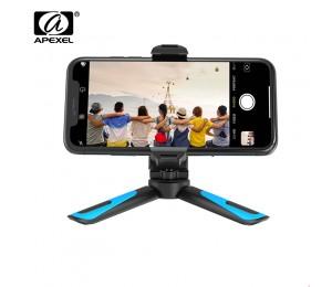 APEXEL 360 Rotation Vertikale Schießen 2 in 1 Mini Stativ Telefon Montieren Holdr für iPhone Xs Max Xs X 8 7 Plus Samsung S8 S9