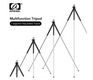 APEXEL professionelle erweiterbar Flexible SLR Stativ 360 Rotation Vertikale Schießen Telefon stativ Halter für Gopro Sony Nikon Telefon