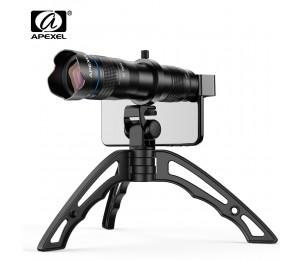 APEXEL HD 36X metall teleskop teleobjektiv monokulare mobile objektiv + Optional selfie stativ für Samsung Huawei alle Smartphones