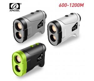 APEXEL 600M 800M 1200M Golf Laser-entfernungsmesser Mini Golf Hang Eingestellt Modus Sport Laser Abstand Meter Entfernungsmesser für Jagd