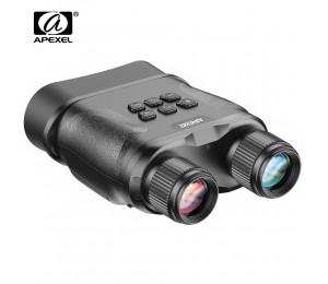 APEXEL APL-NV001 Digital Night Vision Fernglas für Komplette Dunkelheit GlassOwl Infrarot Nachtsicht Brille für Jagd Überwachung