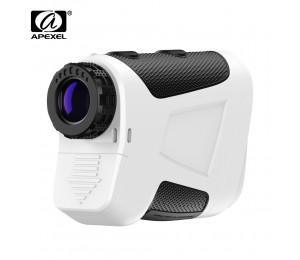 APEXEL APL-ZD600 Professional Golf Laser-entfernungsmesser Range Finder Fernrohr Mit Vibrieren Hang Abstand Korrektur