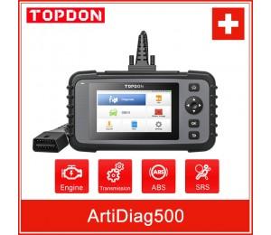 TOPDON ArtiDiag500 OBD2 Scanner Auto Diagnose Werkzeug Auto Scan Automotive Motor ABS SRS