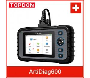 TOPDON ArtiDiag600 OBD2 Scanner Auto Diagnose Werkzeug Automotive Scan Auto Diagnose ABS SRS Motor Test Autoscanner