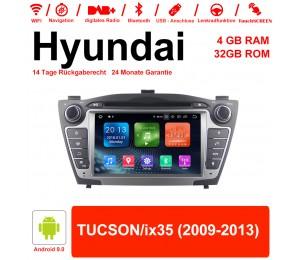 7 Zoll Android 9.0 Autoradio / Multimedia 4GB RAM 32GB ROM Für Hyundai TUCSON/ix35
