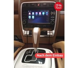 7 Zoll Android 9.0 Autoradio / Multimedia 4GB RAM 32GB ROM Für Porsche Cayenne(2003-2010)