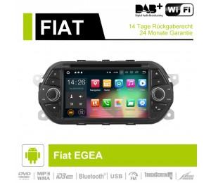 7  Zoll  Android 9.0Autoradio / Multimedia 4GB RAM 32GB ROM Für  Fiat  EGEA