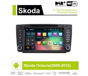 8 Zoll Android 9.0 Autoradio / Multimedia 4GB RAM 32GB ROM Für Skoda Octavia(2009-2012)