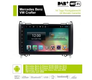 2din Android 9.0 Octa-core 4 GB RAM 32GB Car DVD Für BENZ W169 W245