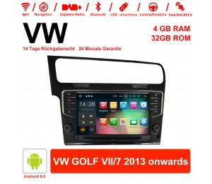 9 Zoll Android 9.0 Autoradio / Multimedia 4GB RAM  32GB ROM Für VW GOLF VII/7 2013 weiter