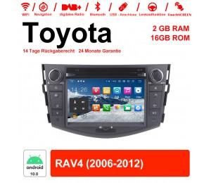 7 Zoll Android 10.0 Autoradio / Multimedia 2GB RAM 16GB ROM Für Toyota RAV4 Mit WiFi NAVI Bluetooth USB