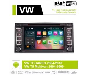 7 Zoll Android 9.0 Autoradio / Multimedia 2GB RAM 16GB ROM Für VW/Volkswagen/Touareg/Transporter T5