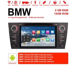 Android 9.0 Quad-core 2G RAM 16G flash Car DVD Player Radio für BMW 3 Series E90