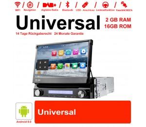 7 Zoll Android 9.0 Autoradio/Multimedia 2GB RAM 16GB ROM Für Universal