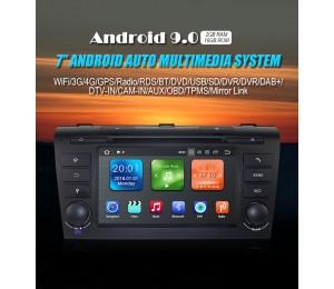 Android 9.0 Quad-core 2GB RAM 16GB  flash Car DVD Player AutoRadio für  MAZDA3