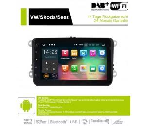 8 Zoll Android 9.0 Autoradio/Multimedia 2GB RAM 16GB ROM Für VW Magotan Passat Jetta Golf Tiguan Touran Seat Skoda