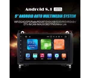 2 din Android 8.1 Quad-Core 2 GB RAM 16GB Auto DVD für Benz