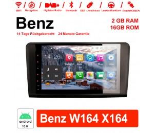 9 Zoll Android 10.0 Autoradio/Multimedia 2GB RAM 16GB ROM Für Mercedes Benz ML/GL-Class W164 X164